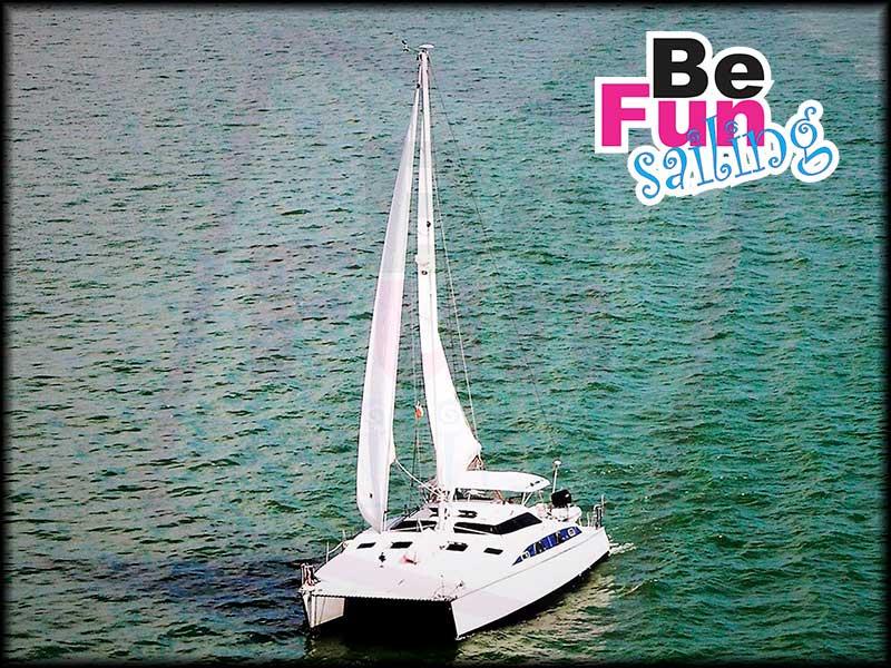 Private luxury Catamaran 2