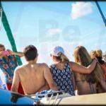 private catamaran birthday 1