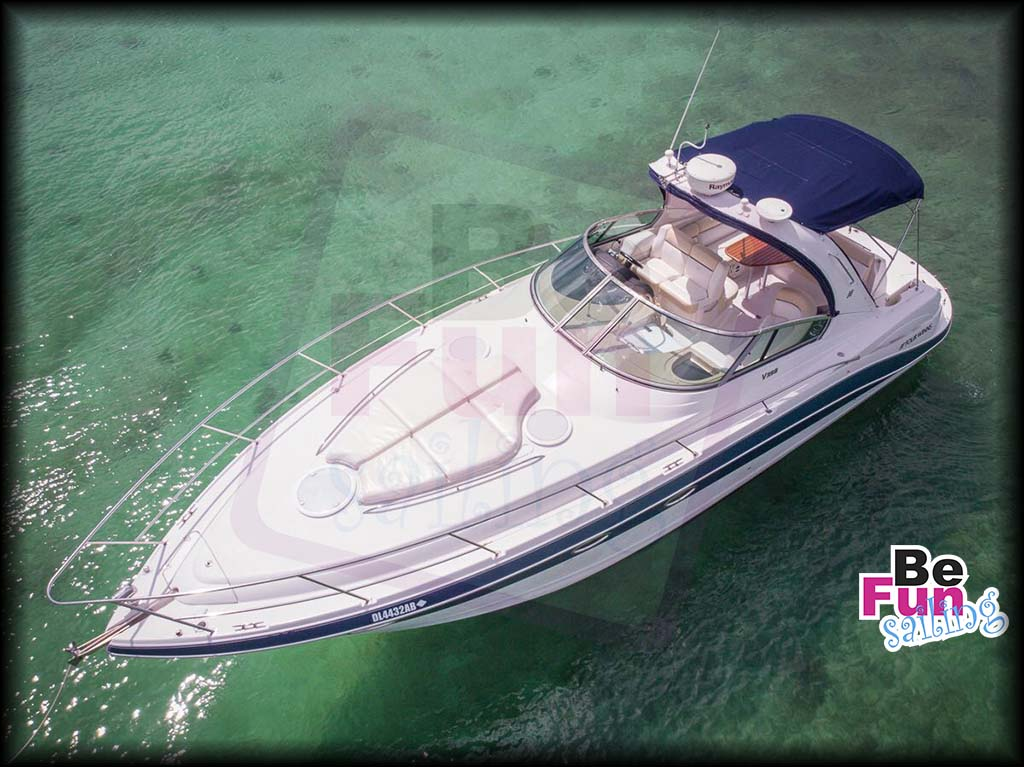 private small yacht in playa del carmen