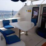 Platinum Catamaran sits
